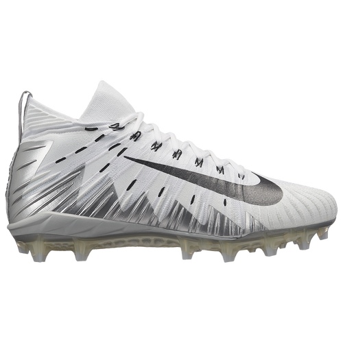 Nike Alpha Menace Elite - Men's Football Shoes - White/Metallic Silver/Pure Platinum 71519106