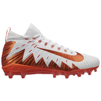 Nike Alpha Menace Elite - Men's - White / Orange
