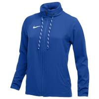 Nike Team Dry Jacket - Women's - Blue / Blue