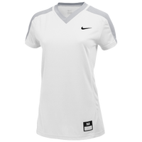 Nike Team Dri-FIT Game Jersey - Women's - White / Grey