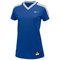 Nike Team Dri-FIT Game Jersey - Women's - Blue / Grey