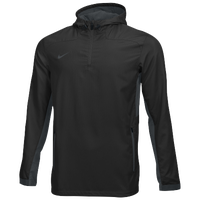 Nike Team Woven 1/4 Zip Jacket - Men's - Black / Grey