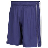adidas Team Utility Shorts - Men's - Purple / White
