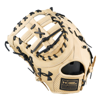 Under Armour Flawless First Base Mitt - Tan / Black