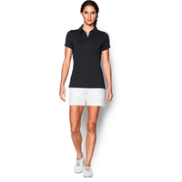 Under Armour Zinger Golf Polo - Women's - All Black / Black