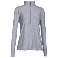 Under Armour Zinger Golf 1/4 Zip - Women's - Grey / Grey