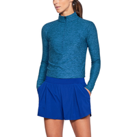 Under Armour Zinger Golf 1/4 Zip - Women's - Blue / Blue
