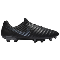 Nike Tiempo Legend 7 Elite FG - Men's - All Black / Black