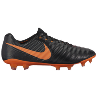 Nike Tiempo Legend 7 Elite FG - Men's - Black / Orange