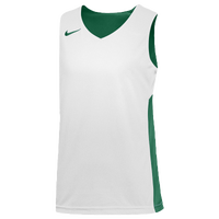 Nike Team Reversible Tank - Boys' Grade School - Dark Green / White