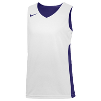 Nike Team Reversible Tank - Boys' Grade School - Purple / White