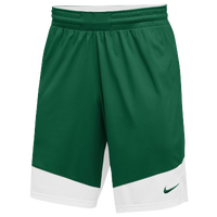 Nike Team Practice Shorts - Boys' Grade School - Dark Green / White