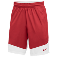 Nike Team Practice Shorts - Boys' Grade School - Red / White