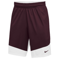 Nike Team Practice Shorts - Boys' Grade School - Maroon / White