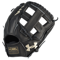 Under Armour Flawless Single Post Web Fielding Glove - Black / Tan