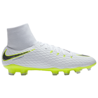 Nike Hypervenom Phantom 3 Academy DF FG - Men's - White / Light Green