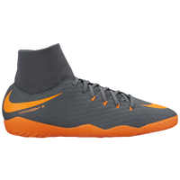 Nike Hypervenom PhantomX 3 Academy DF IC - Men's - Grey / Orange