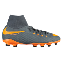 Nike Hypervenom Phantom 3 Academy DF FG - Boys' Grade School - Grey / Orange