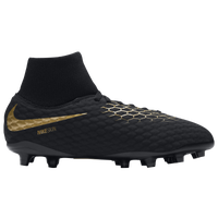 Nike Hypervenom Phantom 3 Academy DF FG - Boys' Grade School - Black / Gold
