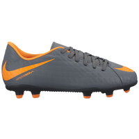Nike Hypervenom Phantom 3 Club FG - Boys' Grade School - Grey / Orange
