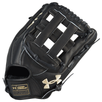 Under Armour Flawless H-Web Fielding Glove - Black / Tan