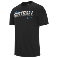 Nike Dri-FIT Football T-Shirt - Men's - Black