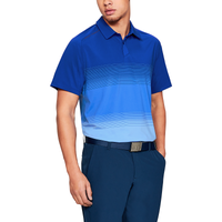 Under Armour Threadborne Gradient Golf Polo - Men's - Blue / Light Blue
