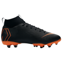 Nike Mercurial Superfly 6 Academy MG - Boys' Grade School - Black / Orange