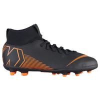 Nike Mercurial Superfly 6 Club MG - Boys' Grade School - Black / Orange
