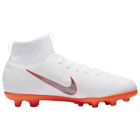 Nike Mercurial Superfly 6 Club MG - Boys' Grade School - White / Orange