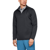 Under Armour Storm Daytona Golf 1/2 Zip - Men's - All Black / Black