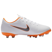 Nike Mercurial Vapor 12 Academy MG - Boys' Grade School - White / Orange