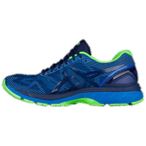 asics tiger gel nimbus 19 lite show men 39 s running shoes indigo blue directoire blue. Black Bedroom Furniture Sets. Home Design Ideas