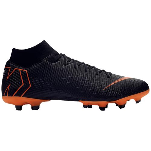 hot sale online acb27 34f68 ... free shipping nike mercurial superfly 6 academy mg mens soccer shoes  black total orange white d68d4