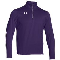 Under Armour Team Qualifier 1/4 Zip - Men's - Purple / White