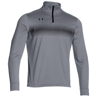 Under Armour Team Qualifier Novelty 1/4 Zip - Men's - Grey / Black