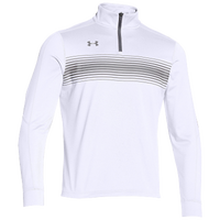 Under Armour Team Qualifier Novelty 1/4 Zip - Men's - White / Grey