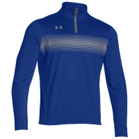 Under Armour Team Qualifier Novelty 1/4 Zip - Men's - Blue / Grey