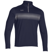 Under Armour Team Qualifier Novelty 1/4 Zip - Men's - Navy / Grey