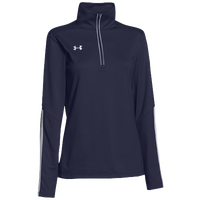 Under Armour Team Qualifier 1/4 Zip - Women's - Navy / White