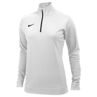 Nike Team Dri-FIT 1/2 Zip - Women's - White / Black