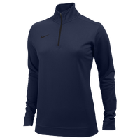 Nike Team Dri-FIT 1/2 Zip - Women's - Navy / Navy