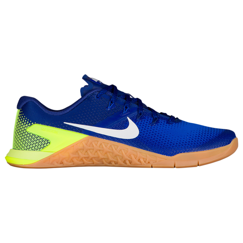 Nike Metcon 4 - Men's - Strength/Weight Training - Shoes - Volt/White/Racer  Blue/Gum
