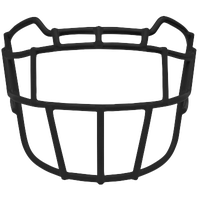 Schutt EGOP-TRAD Vengeance Carbon Steel Facemask - Men's - All Black / Black