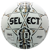 Select Numero 10 Size 5 Soccer Ball - White / Black