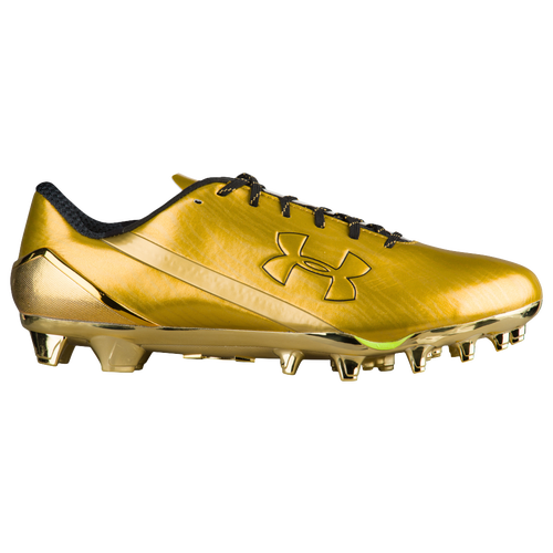Gold Rush Football Cleats