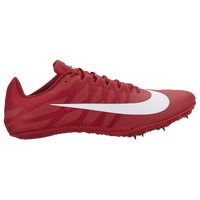 Nike Zoom Rival S 9 - Boys' Grade School - Red / White