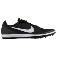 Nike Zoom Rival D 10 - Girls' Grade School - Black / White