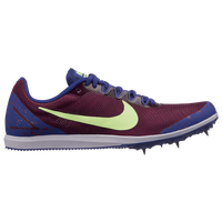 Nike Zoom Rival D 10 - Girls' Grade School - Maroon / Purple