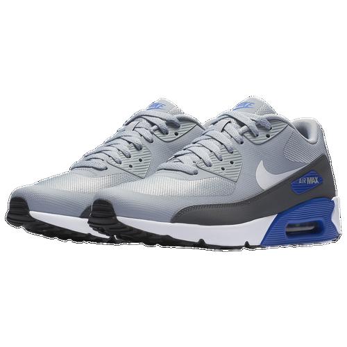 nike air max 90 ultra uomini lupo grigio / bianco scarpe casual